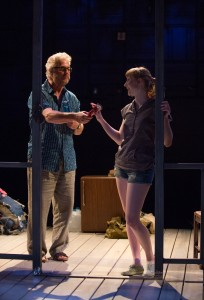 William Petersen and Rae Gray star in the West Coast premiere of Greg Pierce's Slowgirl at the Geffen Playhouse.