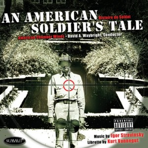 AN AMERICAN SOLDIER'S TALE CD Cover