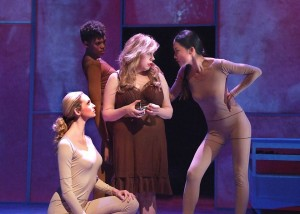Allegra Edwards, Chelsea Fryer, Kirsten Vangsness and Candice Lam in EVERYTHING YOU TOUCH.