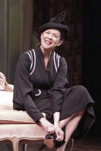 Annette Bening in RUTH DRAPER'S MONOLOGUES at the Geffen Playhouse - Photo by Michael Lamont.