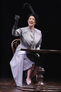 Annette Bening in RUTH DRAPER'S MONOLOGUES at the Geffen Playhouse. Photo by Michael Lamont.