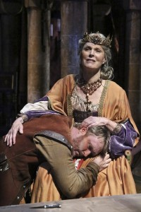 Brendan Ford and Mariette Hartley star in the Colony Theatre production of THE LION IN WINTER, by James Goldman and directed by Stephanie Vlahos.