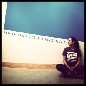 CONTRA-TIEMPO URBAN LATIN DANCE THEATER 'How do you make a Difference' - Poster