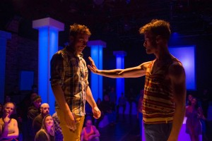 Cole Simon and Patrick Andrews in DORIAN by the House Theatre of Chicago.