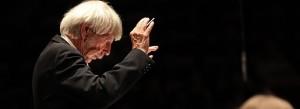 Conductor Reinbert de Leeuw