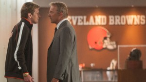 Denis Leary and Kevin Costner in 'Draft Day' (Summit)