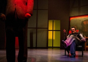 Jason Maddy and John Vickery star in San Diego REP's production of RED.