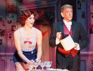 Jessica Ernest and Danny Michaels in THE DROWSY CHAPERONE at the Norris Center.