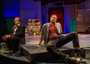 John Vickery, Jason Maddy in San Diego REP's production of RED.