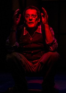 John Vickery in San Diego REP's production of RED.