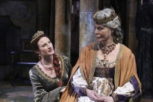 Justine Hartley and Mariette Hartley star in the Colony Theatre production of THE LION IN WINTER, by James Goldman and directed by Stephanie Vlahos.