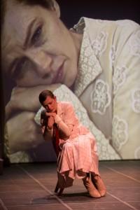 Scene from Mikhail Baryshnikov's MAN IN A CASE – National Tour