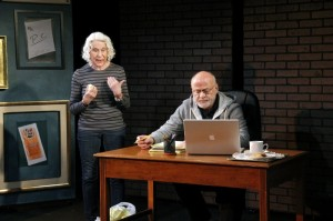 """Memoir"" by Donald Steele, Directed by Katie McHugh, with Michael Boonstra & Ruth Sherman - photo by Caitlin Venedam."