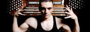 Organist Cameron Carpenter