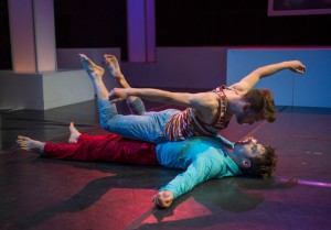 Patrick Andrews and Cole Simon in DORIAN by the House Theatre of Chicago.