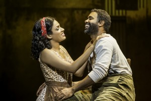 "Alicia Hall Moran and Nathaniel Stampley in ""The Gershwins' Porgy and Bess"" National Tour"