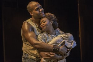"David Hughey and Sumayya Ali in ""The Gershwins' Porgy and Bess"" National Tour"
