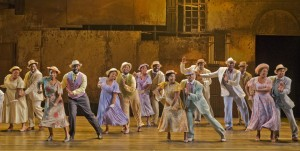 "The cast of ""The Gershwins' Porgy and Bess"" National Tour"