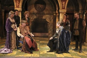 The Cast of the Colony Theatre production of THE LION IN WINTER, by James Goldman and directed by Stephanie Vlahos.