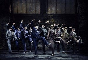 The cast of BULLETS OVER BROADWAY.