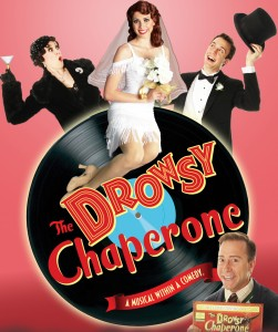 Tracy Lore, Larry Raben, Jessica Ernest and Eric Michael Parker star in THE DROWSY CHAPERONE at the Norris Center.
