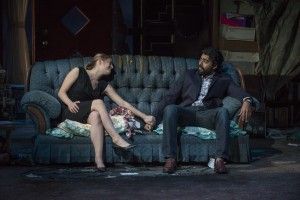 Zoe Perry (Manda) and Gabriel Ruiz (Manny) in Steppenwolf's production of THE WAY WEST.