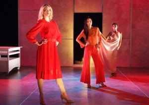 (l to r) Allegra Rose Edwards, Candice Lam and Chelsea Fryer in EVERYTHING YOU TOUCH.
