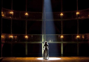 A scene from THAIS (photo by Mats Becker, courtesy of the Gothenburg Opera, Sweden)
