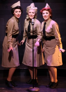 Jordan Yentz, Sarah Larson, Casi Maggio in A Musical Tribute to the Andrews Sisters at Theo Ubique.