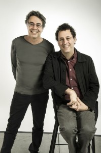 Berkeley Rep Artistic Director Tony Taccone and playwright Tony Kushner.