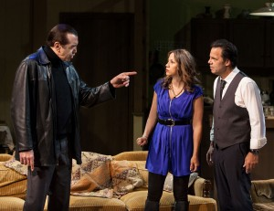 Chazz Palminteri, Elizabeth Rodriguez and Kenny D'Aquila star in the World Premiere play UNORGANIZED CRIME, written by Kenny D'Aquia and directed by David Fofi at the Elephant Theatre in Hollywood.