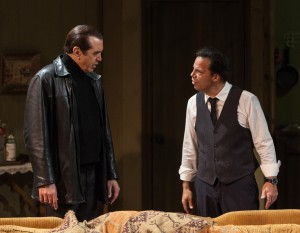 Chazz Palminteri and Kenny D'Aquila star in the World Premiere play UNORGANIZED CRIME, written by Kenny D'Aquia and directed by David Fofi at the Elephant Theatre in Hollywood.