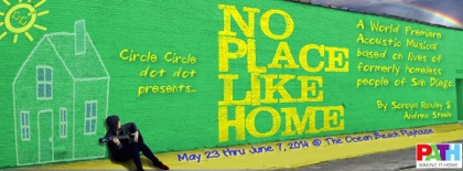 Post image for San Diego Theater Interview and Preview: NO PLACE LIKE HOME (Circle Circle dot dot in Ocean Beach)