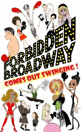 Post image for Off-Broadway Theater Review: FORBIDDEN BROADWAY COMES OUT SWINGING! (Davenport)