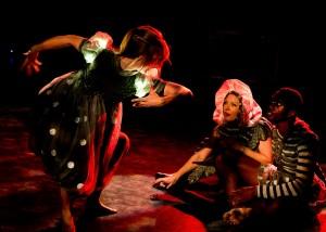 From Nina McNeely's DEMIGODS by L.A. Contemporary Dance Company - photo by Taso Papadakis
