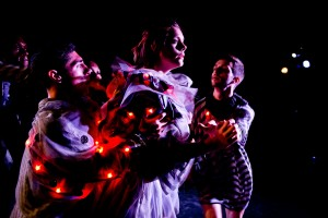 From Nina McNeely's DEMIGODS by L.A. Contemporary Dance Company. Photo by Taso Papadakis.