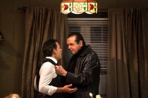 Kenny D'Aquila and Chazz Palminteri star in the World Premiere play UNORGANIZED CRIME, written by Kenny D'Aquia and directed by David Fofi at the Elephant Theatre in Hollywood.