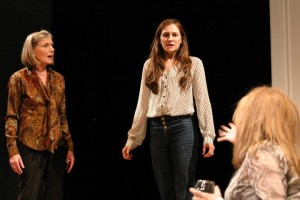 Lily Knoght, Deborah Puette and O-Lan Jones in A DELICATE BALANCE at the Odyssey Theatre.