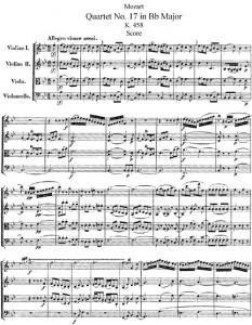MozartQuartetNo17