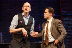 MURDER FOR TWO at New World Stages Off-Broadway.