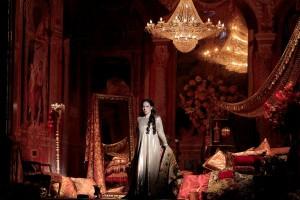 Nino Machaidze as Thais in THAÏS at Los Angeles Opera.