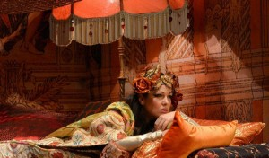 Nino Machaidze as Thais (photo by Guillermo Mendo, courtesy of the Teatro de la Maestranza, Seville)