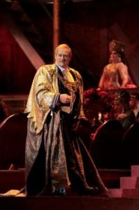 Paul Groves as Nicias in THAÏS at Los Angeles Opera.