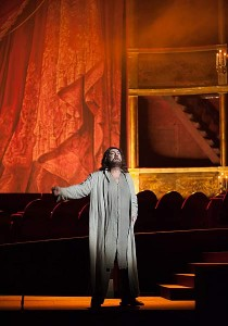 Placido Domingo as Athanael in THAIS (photo by Guillermo Mendo, courtesy of the Teatro de la Maestranza, Seville)