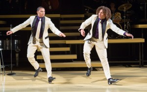 The Manzari Brothers in Maurice Hines Is Tappin' Thru Life at The Wallis.