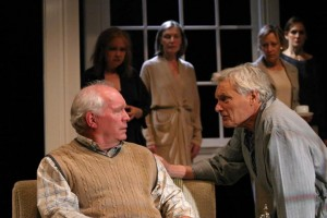 The cast of A DELICATE BALANCE at the Odyssey Theatre.