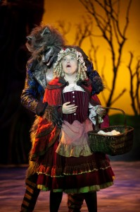 Tim Martin Gleason and Julie Morgentaler in 3-D Theatricals' INTO THE WOODS.