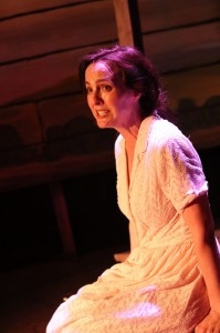 Treva Tegtmeier (Lizzie) in Actors Co-op's production of 110 IN THE SHADE.