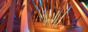 Walt Disney Concert Hall's massive organ.