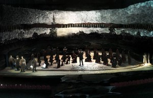Artists Rendering of PETER GRIMES at SF Symphony - Image Credit MACMOC Design
